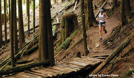 Knee Knackering North Shore Trail Run Ultramarathon