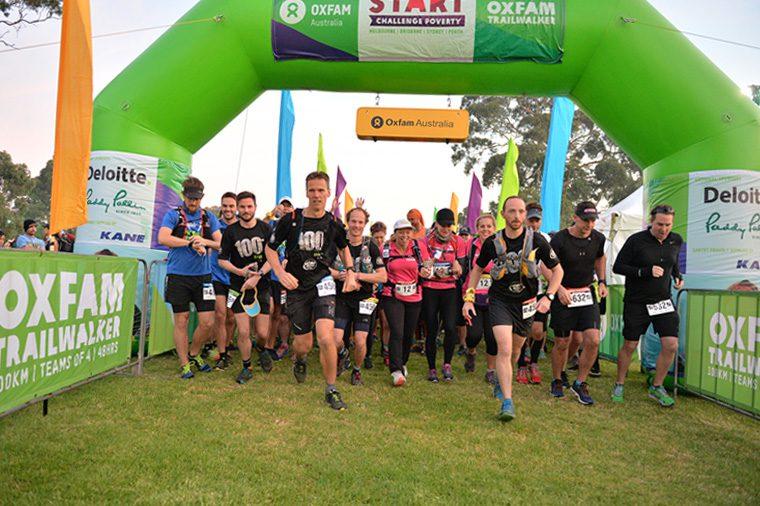 Oxfam Trailwalker Ultramarathon