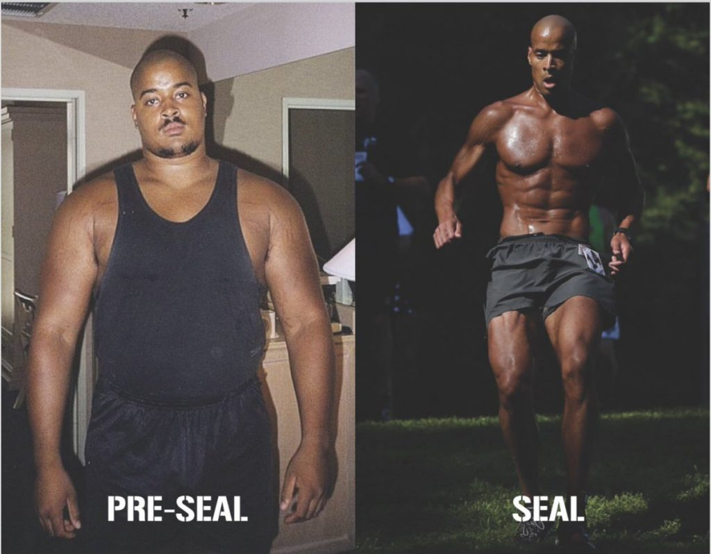 david goggins before and after