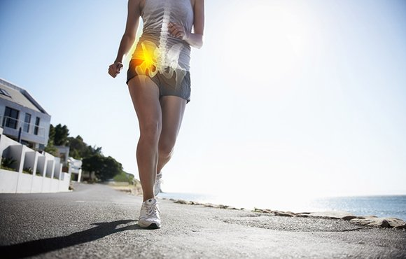 hip pain when running