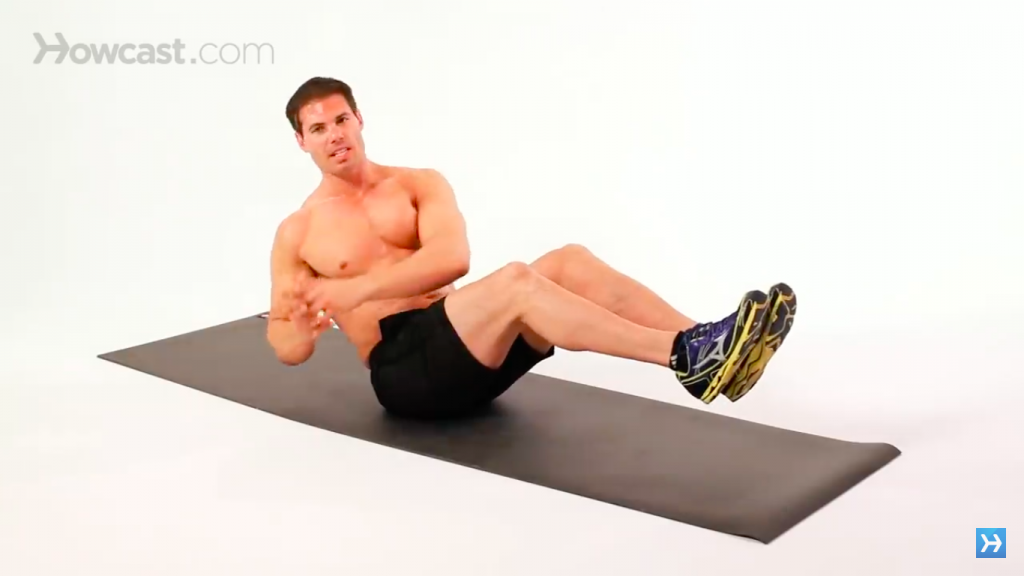 russian twists exercise