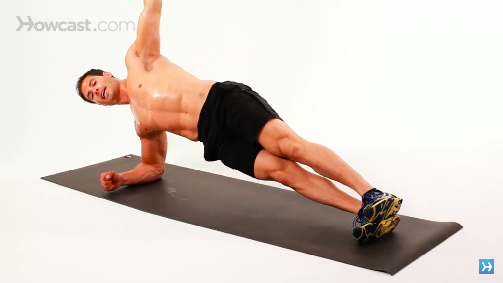 side planks exercise
