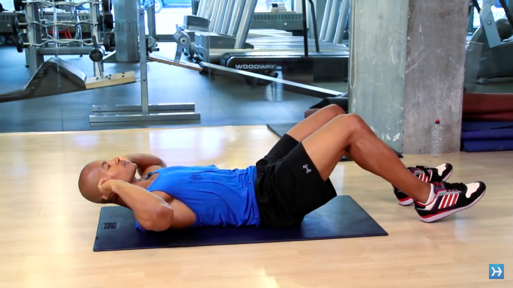 sit ups exercise