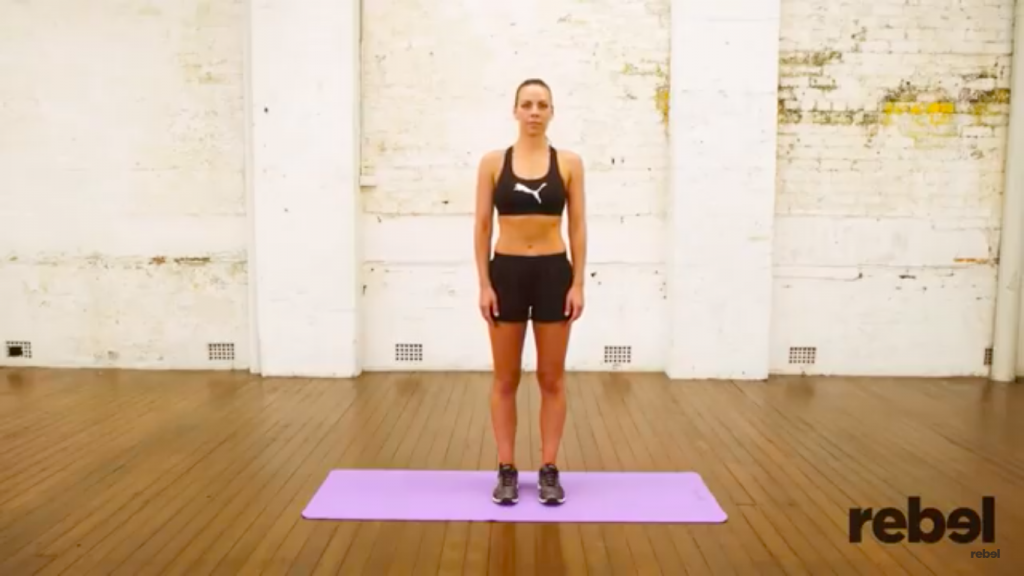 skater lunges exercise