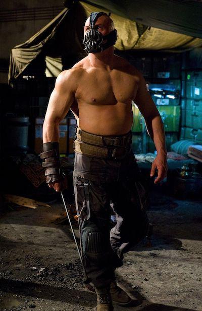 Tom Hardy Dark Knight Rises Bane Workout