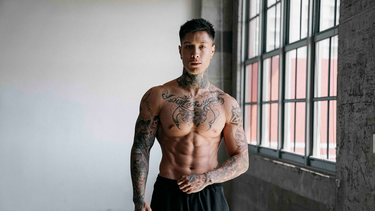 chris heria workout routine and diet plan