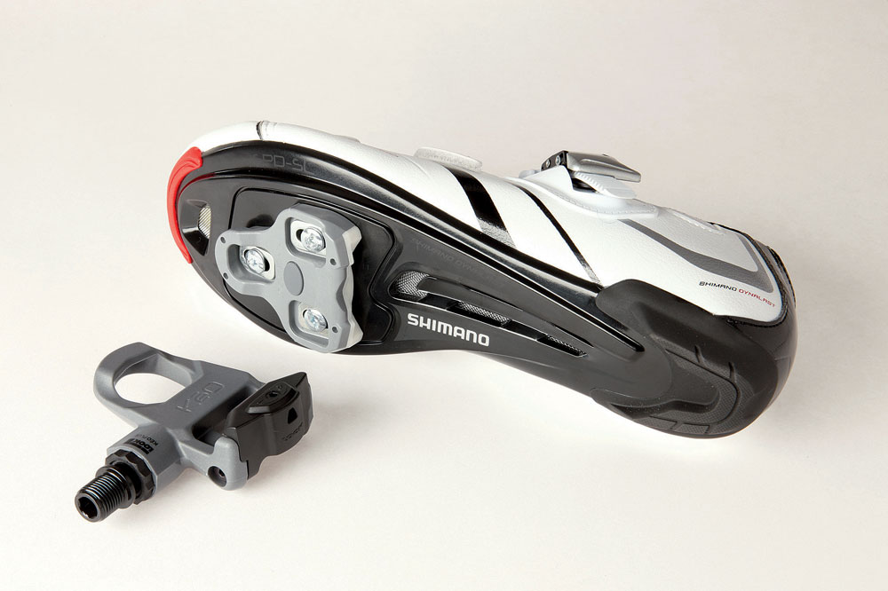 clipless pedal system